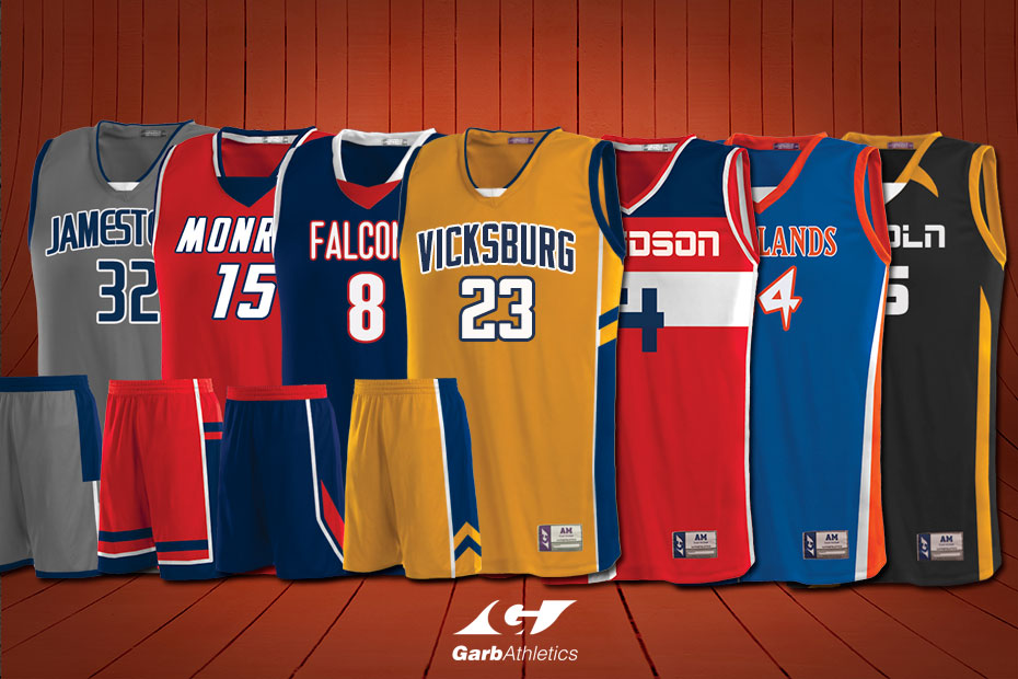 Custom Womens Basketball Jerseys  - just a few out of the hundreds of styles available