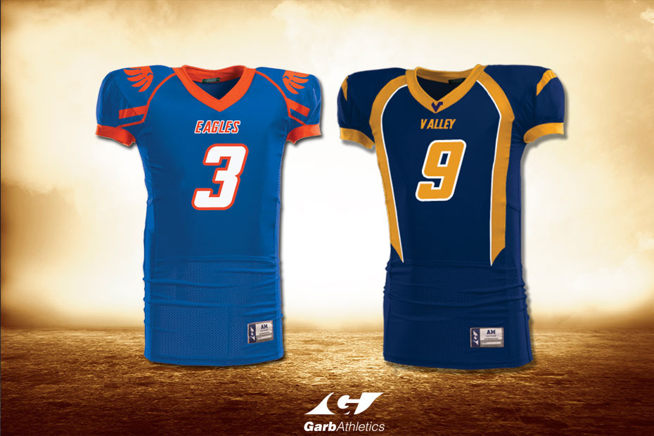 Youth Football Uniforms  - just a few out of the hundreds of styles available